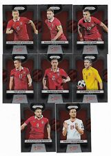 2018 Panini Prizm FIFA World Cup Base Team Set SERBIA (8 Cards)