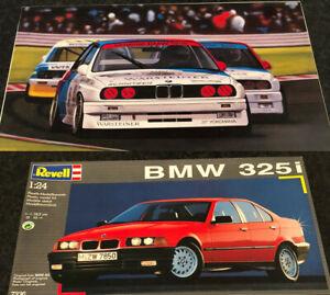 Lotto 2 Kit 1:24 Fujimi BMW M3 Gruppo A - Revell BMW 325i
