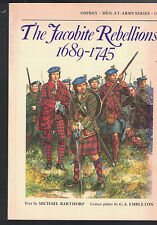 Osprey Men-At-Arms Series #118- The Jacobite Rebellions 1689-1745