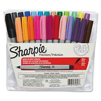 Sharpie Permanent Markers Ultra Fine Point Assorted 24/Set 75847