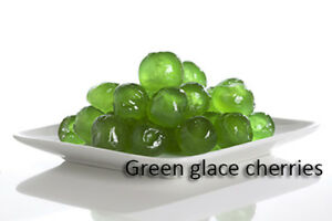 Green Glace` Cherries (200g)
