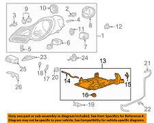PORSCHE OEM Boxster Headlight Head Light Lamp-Mount Bracket Right 99663104200
