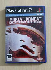 MORTAL KOMBAT ARMAGEDDON  PS2 PLAYSTATION 2 PAL ITALIANO COMPLETO COME NUOVO