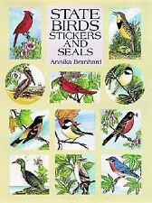 State Birds Stickers and Seals: 50 Full-Color Pressure-Sensitive Designs, Bernha