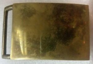 Vintage Baron's Los Angles 236 unengraved/undecorated Brass Belt Buckle!