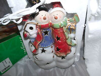 JC Penney Home Collection Snowman&SnowWoman Accent Light