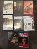 Bundle 8x Vintage THE SHADOWS Cassette Tapes-ANOTHER STRING OF HAT HITS,IN THE
