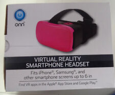ONN VIRTUAL REALITY SMARTPHONE HEADSET  IPHONE SAMSUNG UP TO 6""