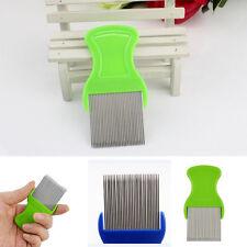Useful Hair Lice Pet Flea Egg Dirt Dust Remover Steel Teeth Comb Health Brush1ps