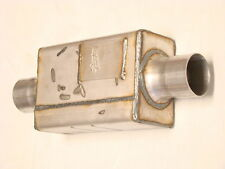 """2 SPINTECH MUFFLERS 9000 Super Pro series 3"""" Center In/Out"""