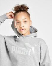 New Puma Girls' Core Crop Hoodie