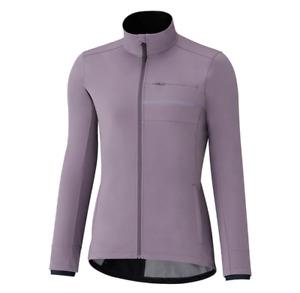 New Shimano Women Transit Softshell Cycling Jacket Windproof Small Grey