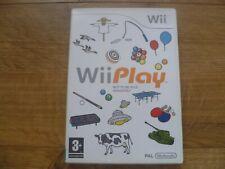Nintendo Wii Juego Wii Play 9 juegos PAL-Plus puntos sin usar Club