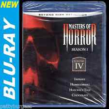Masters of Horror: Volume 4 (Blu-ray) 4 Horror Movies, COMBINED SHIPPING