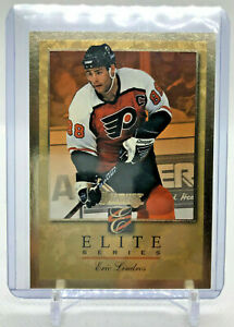 1996-97 Donruss LINDROS Elite Series Insert Gold 0422/2000 #9 Flyers ERIC
