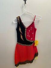 Eastern Competition Figure/Roller Skating Dance Dress Costume Adult M