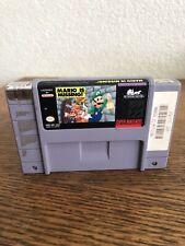 Snes Super Nintendo Mario Is Missing! Game Cart