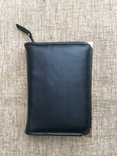 More details for black leather bible cover 4 standard jehovah's witness bible (dlbi12-e)