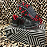 NEW HK Army SHREDDER Paintball Cleats - Black/Red - Size 14.0 US