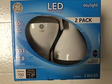 GE 22726 LED Daylight 10W 65 Watt 700 Lumen BR30 R30 Flood Spot 2-pack