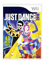 A49 Just Dance 2016 Game PAL for Nintendo Wii *fast Post*