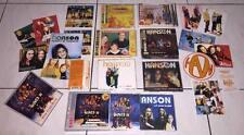 Hanson 1997~2000 Taiwan OBI CD + Box 2 CD + Promo CD Poster Sticker Calendar x 7