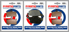 Honda RS 250 R 91-92 Front & Rear Brake Pads Full Set (3 Pairs)