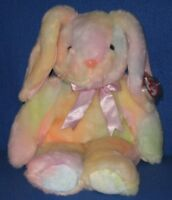 Retired TY HIPPIE the BUNNY BEANIE BUDDY - MINT with MINT TAGS