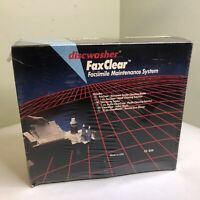 Vintage NEW Discwasher FaxClear Fax Machine Cleaning System 1989 FG 1850