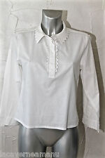 jolie chemise blouse blanche SEE BY CHLOE taille 38 EXCELLENT ÉTAT
