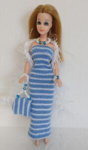 DAWN DOLL CLOTHES Dress Boa Purse and Jewelry Set HM Fashion NO DOLL dolls4emma