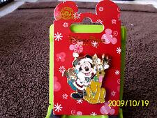 Disney * Santa Mickey & Pluto * New on Card Holiday Pin