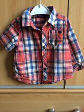 BNWT Sergent Major, French Designer Baby Shirt, 6 Months