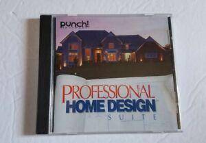 Punch! Pro CD Version 4. 5. 1.2002 Professional Home Design Suite