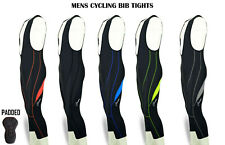 Mens Cycling 3/4 Bib Tights Coolmax Padded cycling tights Bib Shorts Bike Pants