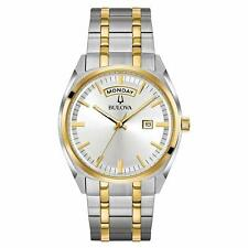 Brand New Bulova Men's Two Tone Watch (98C127)