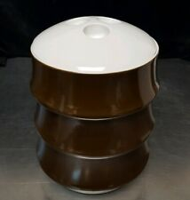 RARE 3-Tier Covered Vegetable Bowl Miropa Suisse Langenthal Aristo Braun Classic