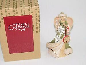 MIB ENESCO Karen Hahn HEART OF CHRISTMAS ANGEL CROCHETING SNOWFLAKES 4038661