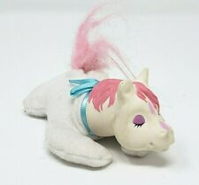 "4"" PONY SURPRISE BABY WHITE & PINK REPLACEMENT HORSE STUFFED ANIMAL PLUSH TOY"