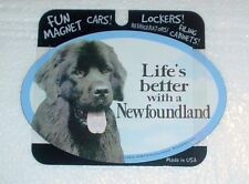 Newfoundland LIFES BETTER Fridge Magnet