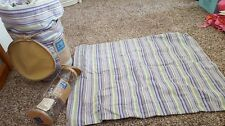 Pottery Barn Teen Lot Spence Duvet Cover Full Queen Shams Purple Stripe