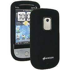 AMZER Black Silicone Jelly Case for Sprint HTC Hero