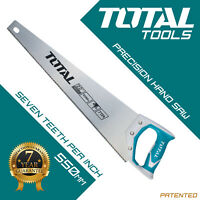 Total Tools - Wood Saw Hand Saw Heavy Duty 550mm Hardened Teeth Timber Woodwork