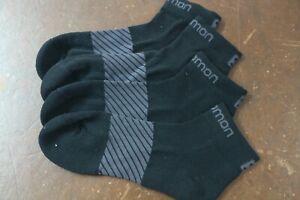 Salomon Trail Running Socks Sport Socks  4-7 Pink Grey