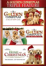 A GOLDEN CHRISTMAS TRIPLE FEATURE New Sealed DVD All 3 Films