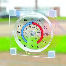 Easy read Dial Window Thermometer - know the outside air temperature from inside
