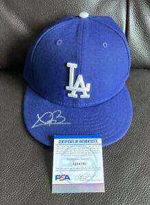 Trevor Bauer Signed Official On Field Los Angeles Dodgers Hat Psa/Dna Coa ~7 3/8