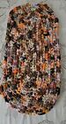 """Vintage Braided Rug Floor Or For Table Dresser Stand Cotton Fabric 22""""×11"""""""