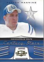2006 Donruss Threads Century Stars Jersey #12 Peyton Manning /250 Jersey - NM-MT
