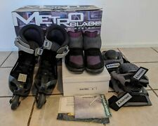 Vintage Rollerblade Metroblade Size 9 Men's Inline Skates and Shoes